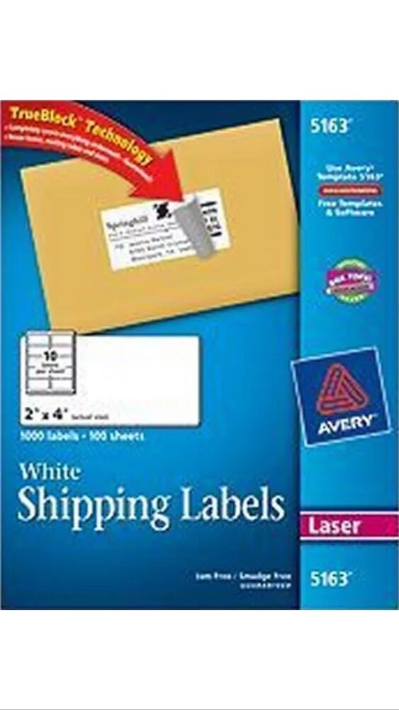 avery mailing labels 10 per page
