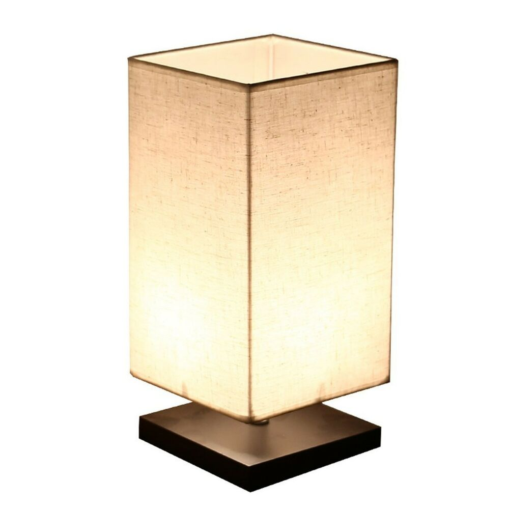 Morden Table Lamps For Bedroom Small Minimalist Wood Table