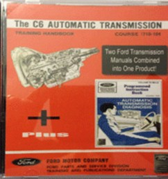 details about ford galaxie ltd xl 7 litre thunderbird c6 transmission shop manual on cd rom [ 1000 x 888 Pixel ]