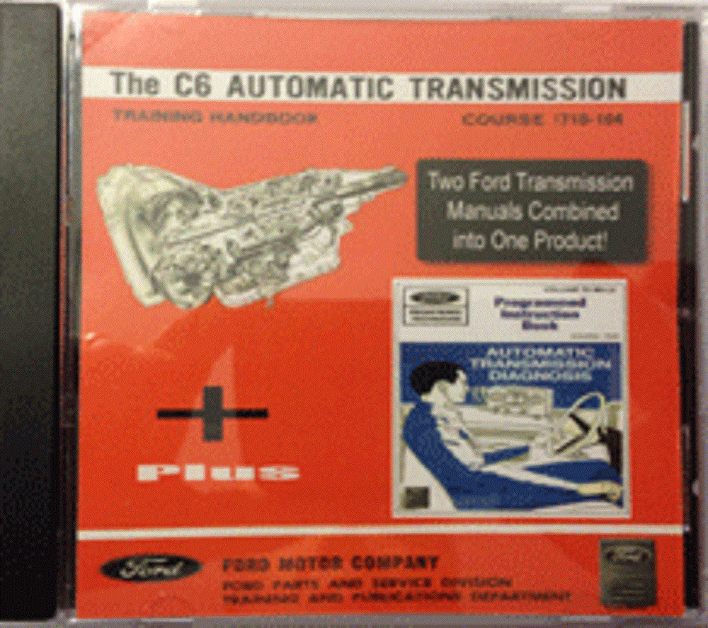 hight resolution of details about ford galaxie ltd xl 7 litre thunderbird c6 transmission shop manual on cd rom