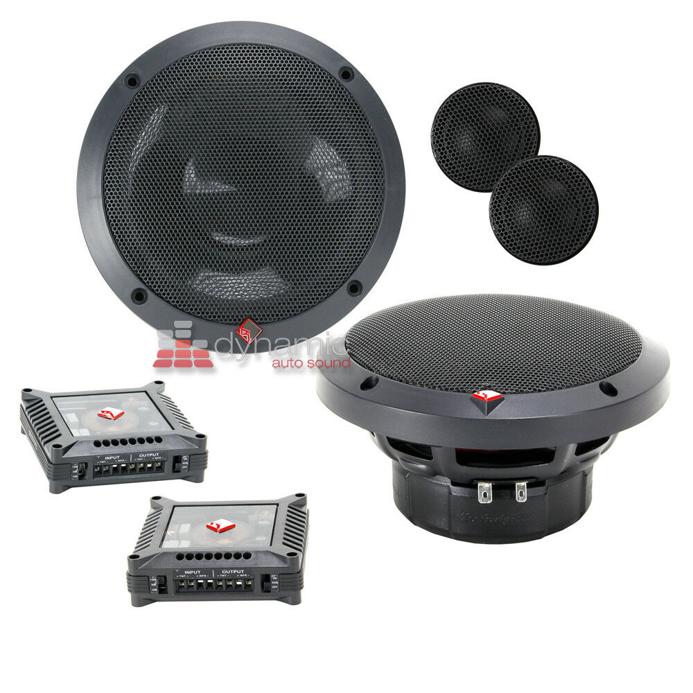 Rockford Fosgate T1675 S 6 75quot 2 Way Power T1 Car Component Speaker