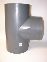"*NEW* IPEX, Xirtec 140, 10"" Schedule 80 PVC Pipe Tee"