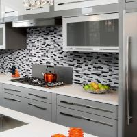 Alaska Peel and Stick Mosaic Decorative Tile Backsplash ...