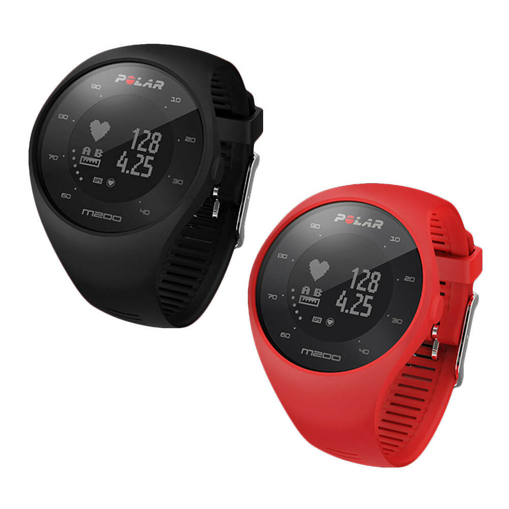 Polar M200 GPS Running Watch with Heart Rate Monitor ...
