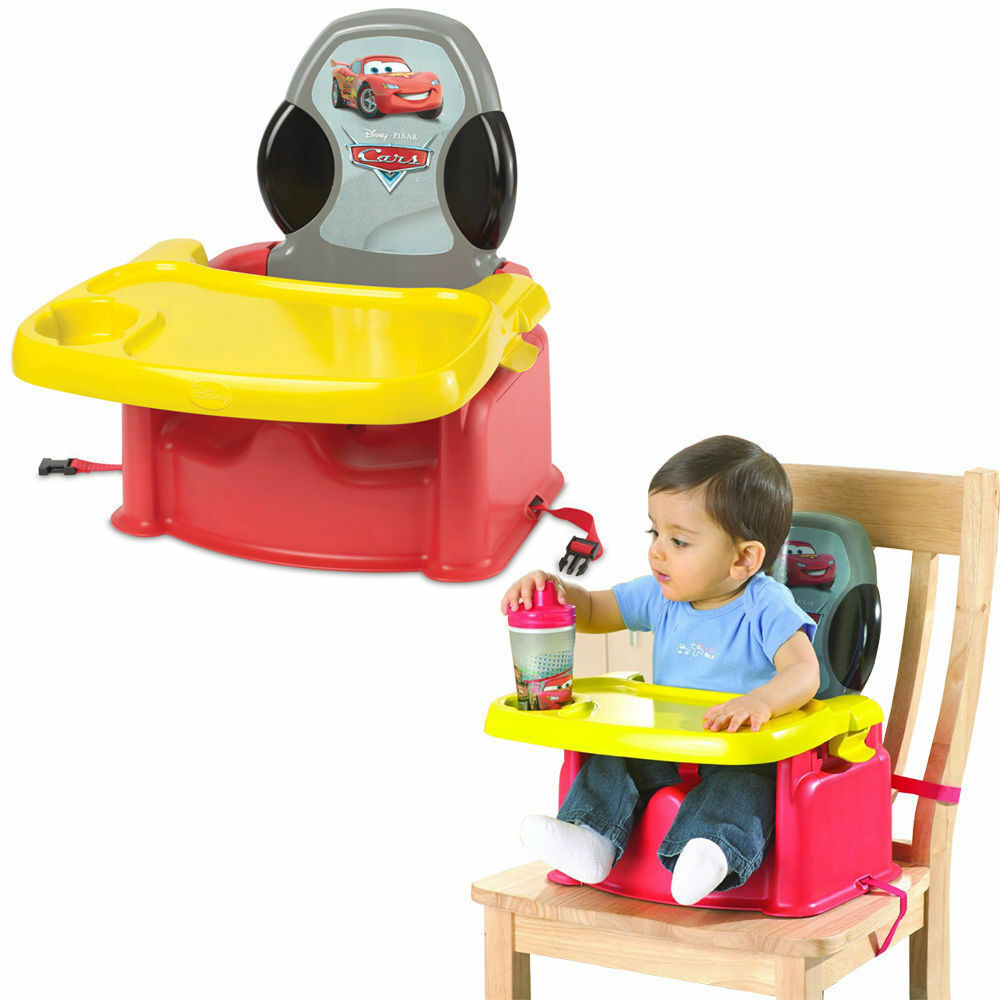 Booster High Chair Seat Disney Cars Portable Foldable Baby Child High Chair Booster Feeding Harness Seat 71463101115 Ebay