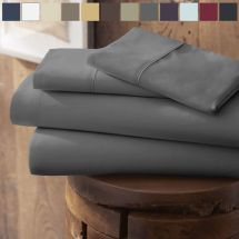 Egyptian Comfort Hotel Quality Bed Sheets - Deep Pocket 4