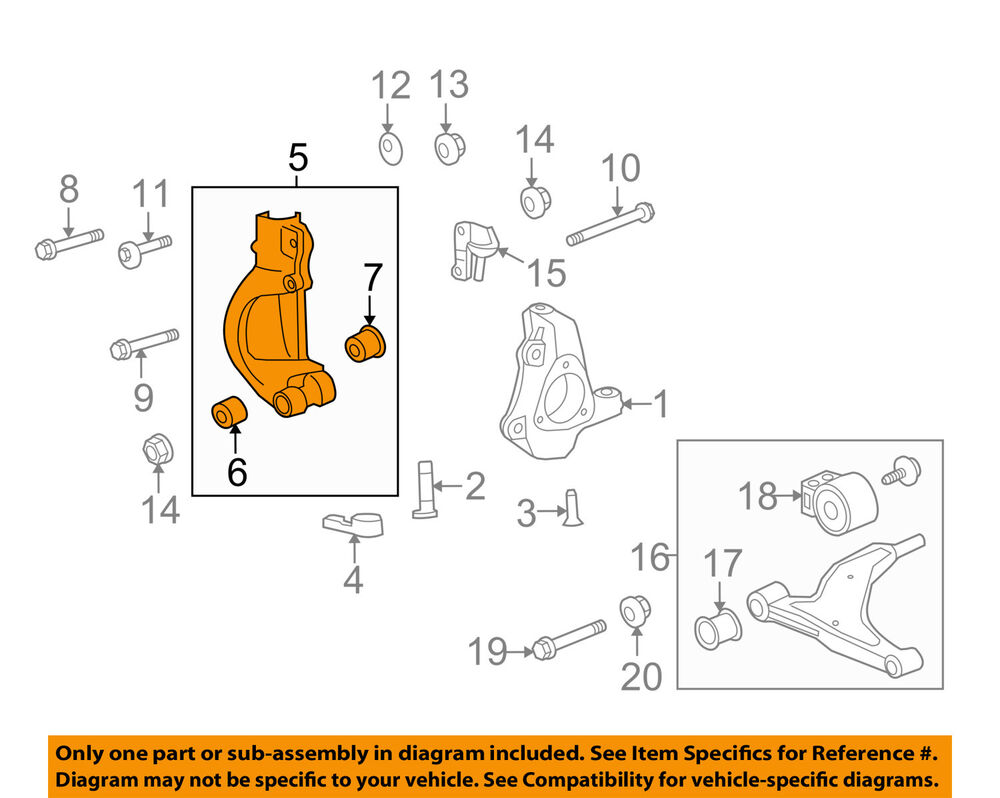 medium resolution of details about cadillac gm oem 14 16 xts universal joint u joint yoke right 23189141