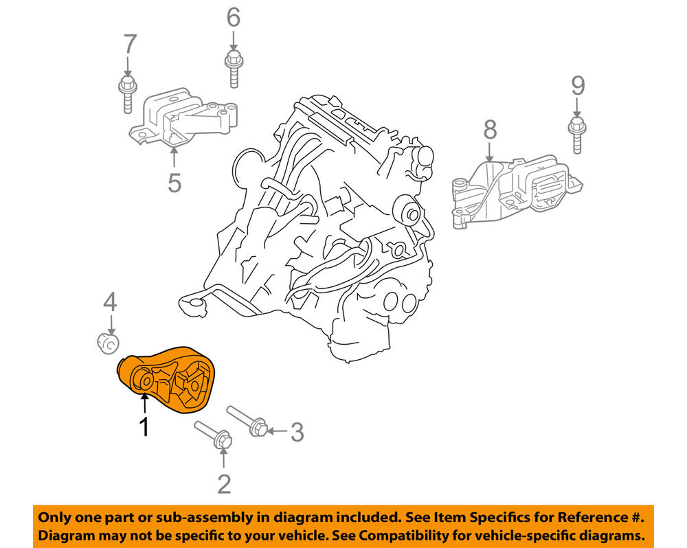 hight resolution of details about smart oem 08 15 fortwo engine motor mount torque strut 4512400109