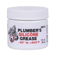 HERCULES, PLUMBERS SILICONE GREASE LUBRICANT FAUCET STEM ...