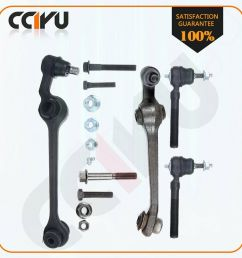 details about 4 suspension parts lower control arm ball joint tie rod for 99 04 chrysler 300m [ 1000 x 1000 Pixel ]