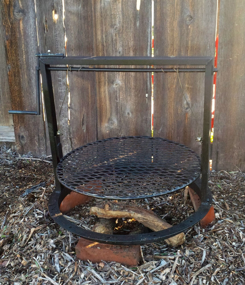 CAMPFIRE PIT BBQ GRILL WITH ADJUSTABLE GRATE ( SANTA MARIA