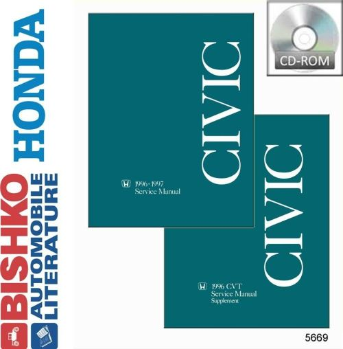 small resolution of details about 1996 1997 honda civic shop service repair manual cd engine drivetrain electrical