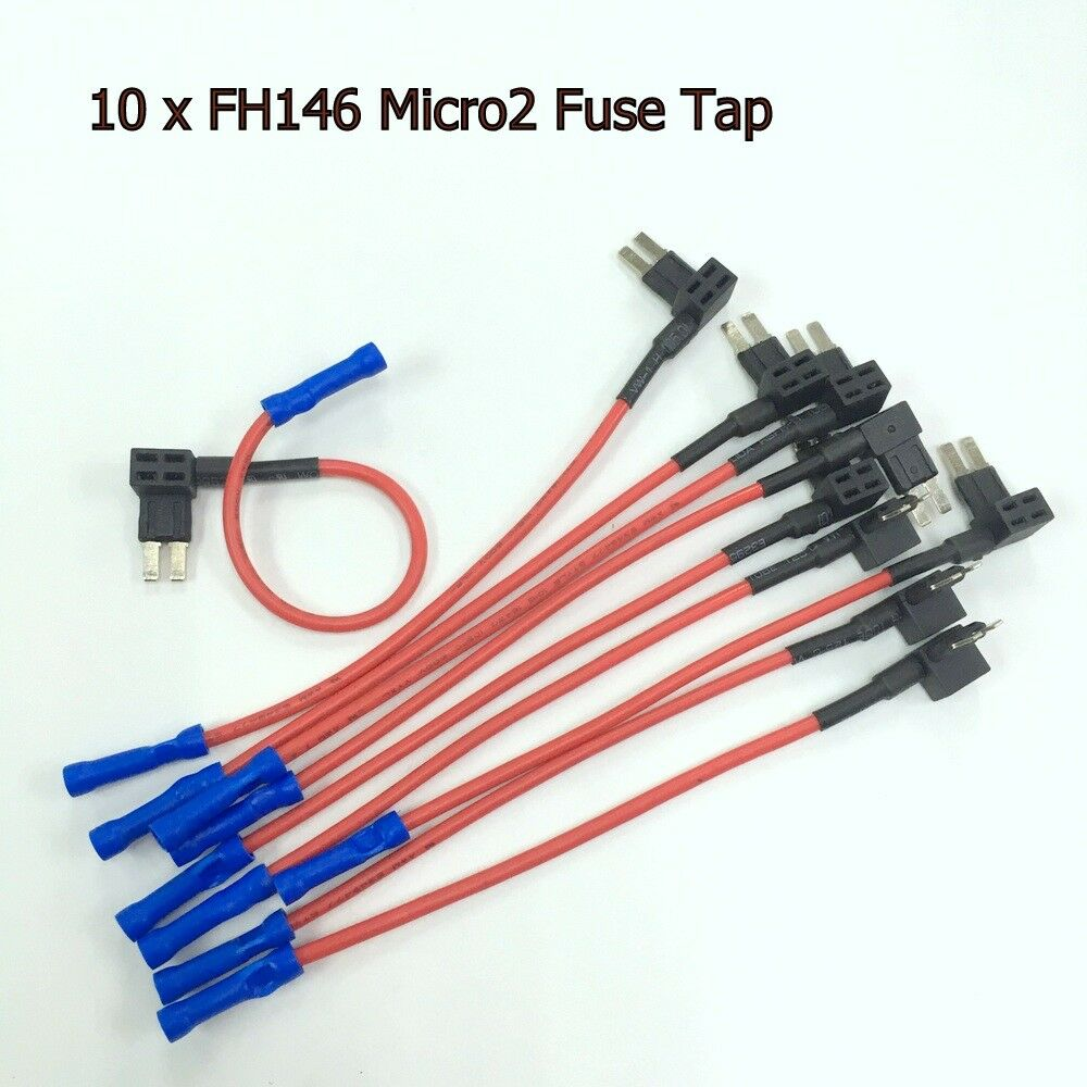 hight resolution of details about 10 x new micro2 add a circuit fuse tap atr apt car fuse holder adapter gtz