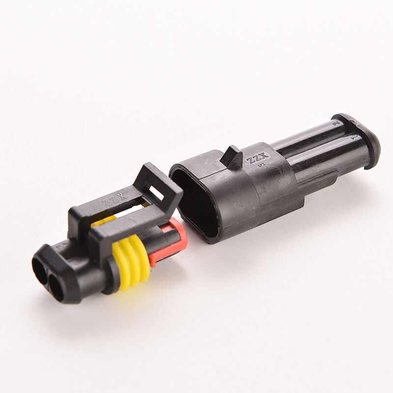 Connector Black Sealed Auto Wiring Connectors On Automotive