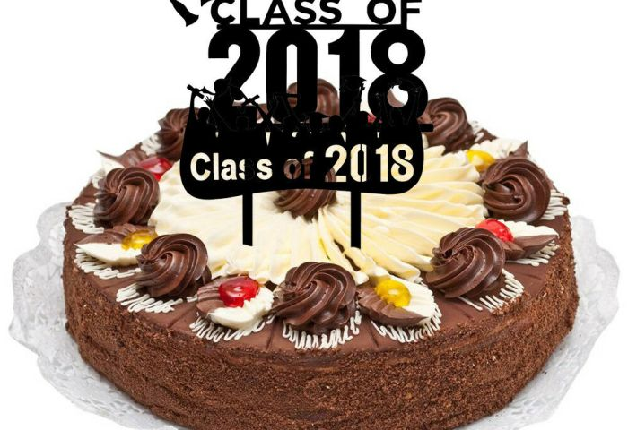 Personalised Graduation Class Of 2018 Cake Topper Party Decoration