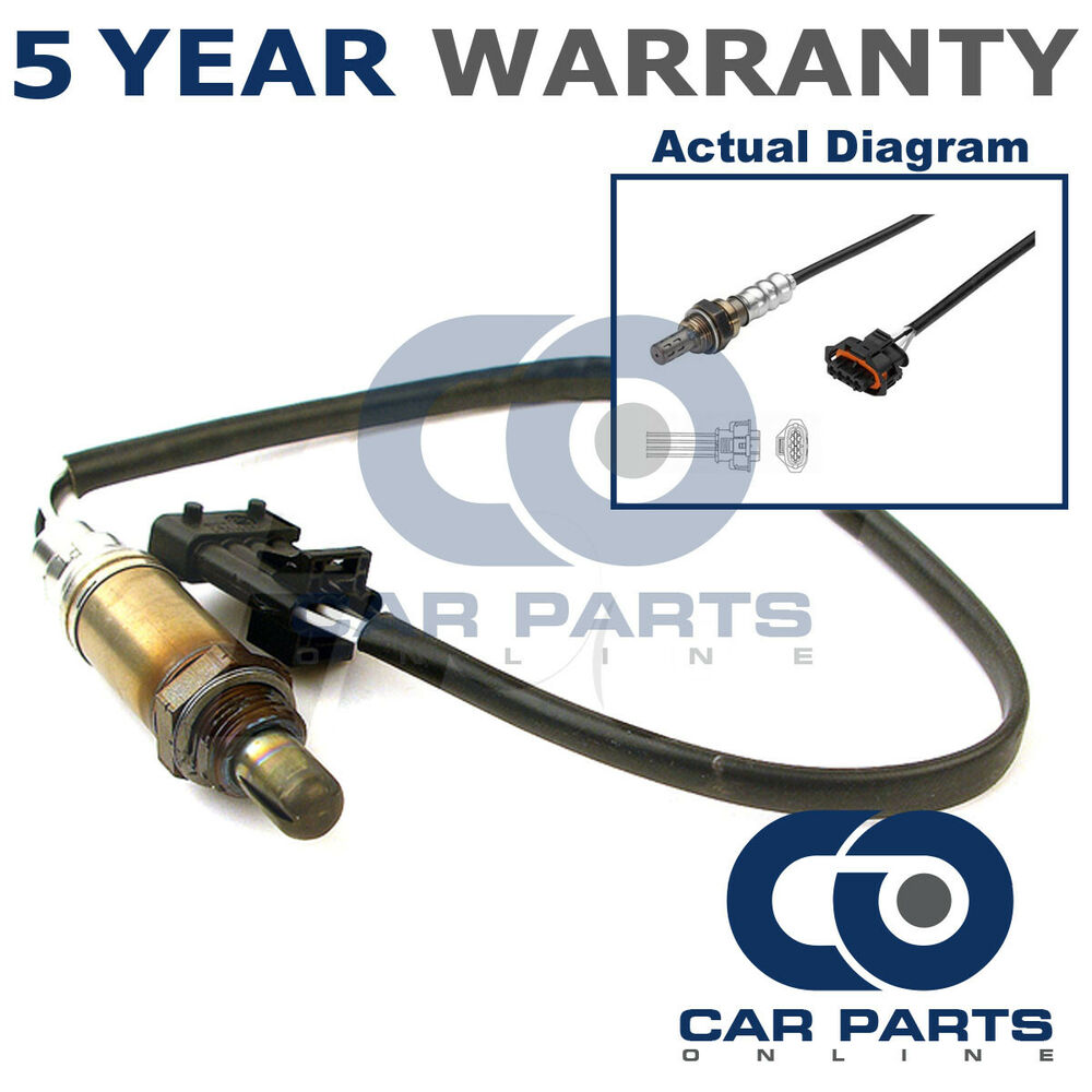 medium resolution of details about front 4 wire oxygen sensor for fiat croma vauxhall astra h signum vectra zafira