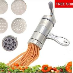 Kitchen Aid Pasta Attachment Apron Roller With A 5 Piece Not 3 Pieces Cutter New