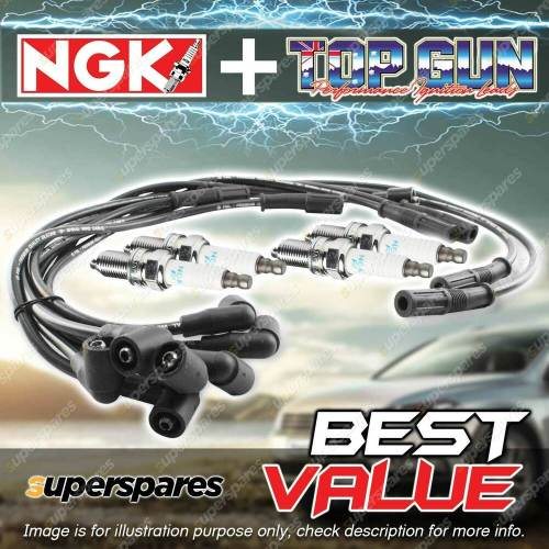 small resolution of details about ngk ignition spark plug leads wires kit for toyota hilux rn85 90r 105r 130r