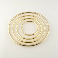 Metal Round O Ring Open Loop Hoop Purse Handle Belt Buckle ...