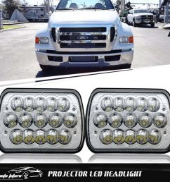 7x6 5x7 led headlight lamp for ford super duty truck f550 f600 f650 f700 f750 [ 1000 x 1000 Pixel ]