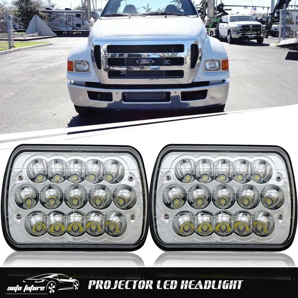 medium resolution of 7x6 5x7 led headlight lamp for ford super duty truck f550 f600 f650 f700 f750