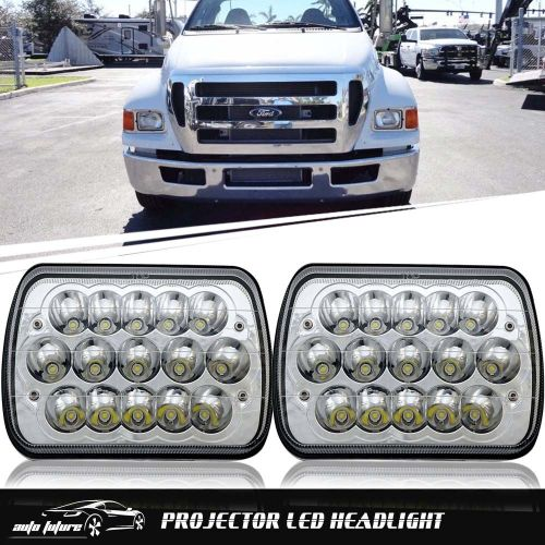 small resolution of 7x6 5x7 led headlight lamp for ford super duty truck f550 f600 f650 f700 f750