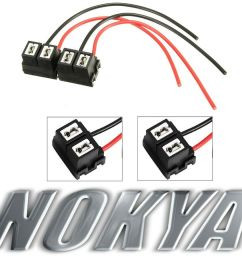 details about nokya wire harness pigtail female h7 nok9106 head light bulb high beam connector [ 1000 x 845 Pixel ]
