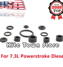 details about fuel filter housing o ring seal kit for ford 7 3 7 3l powerstroke diesel 99 03 [ 1000 x 1000 Pixel ]