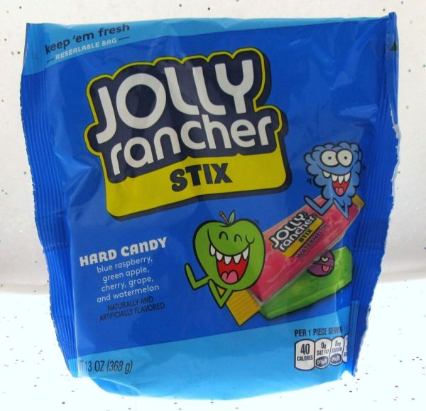 Jolly Rancher Stix Hard Candy 13oz Resealable Bag Of Sweets 10700578051