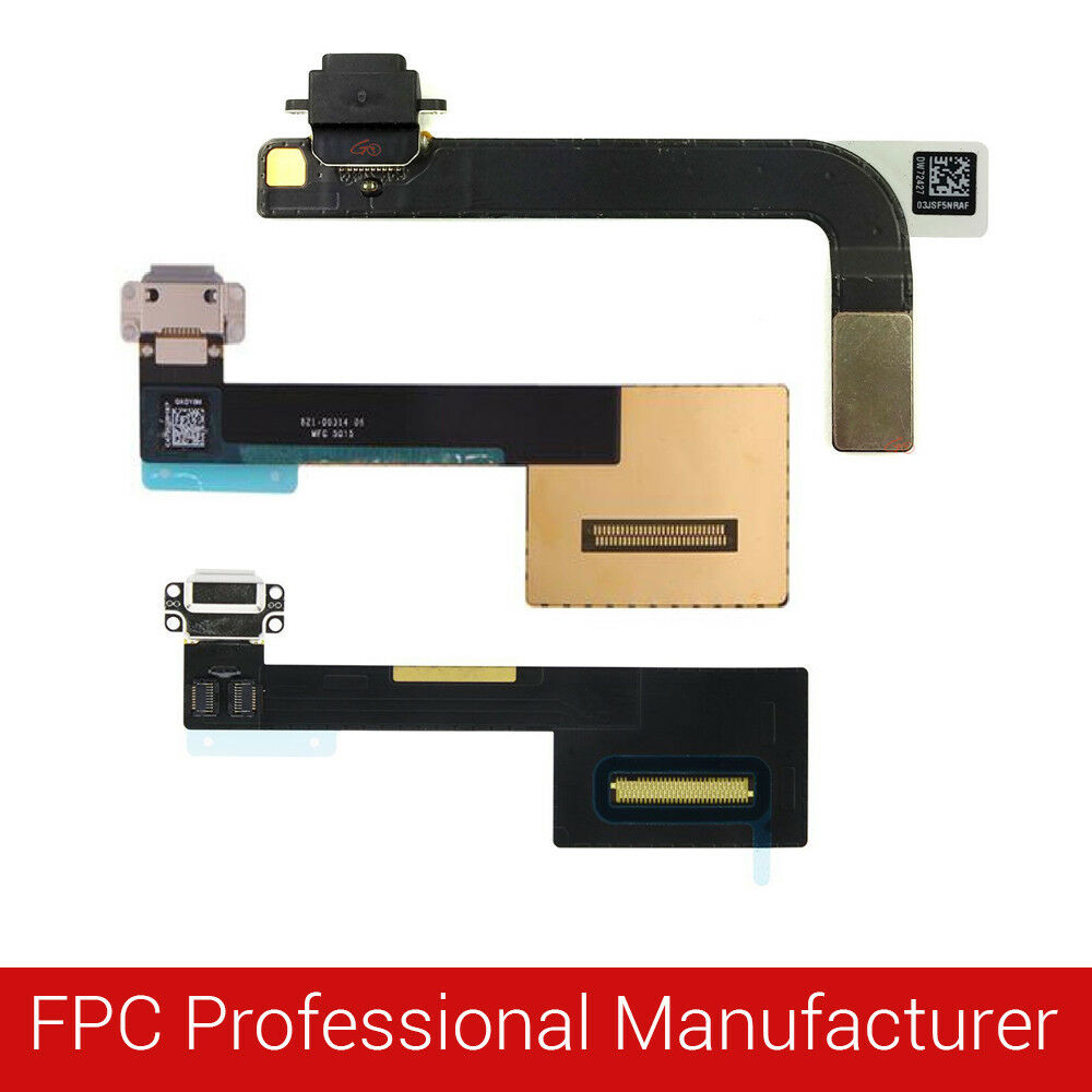 medium resolution of details about for ipad usb charging port dock connector flex cable replacement pro air mini fj
