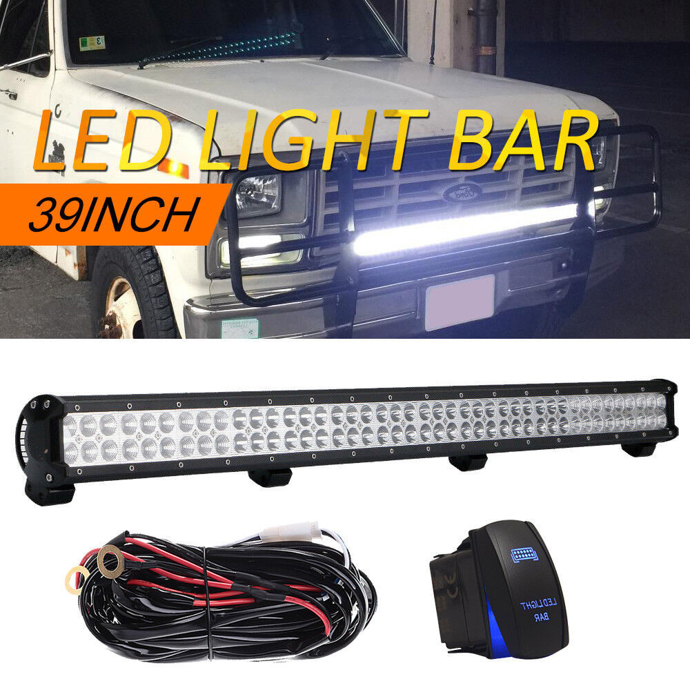 medium resolution of details about 39inch led light bar wiring off road 4x4 suv for jeep wrangler ford