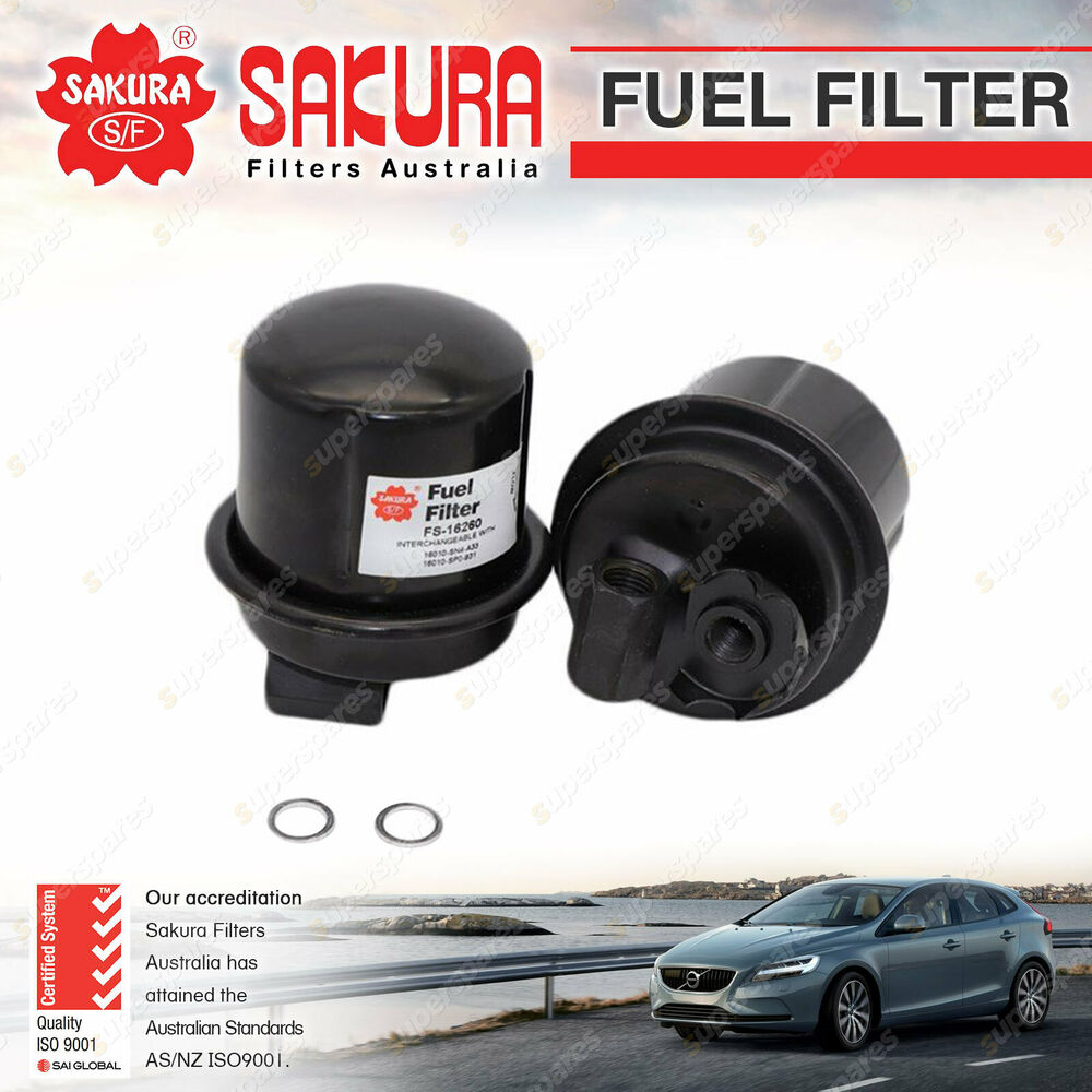hight resolution of details about sakura fuel filter for honda accord civic eg eh crx prelude petrol 1 6 2 2 2 3l