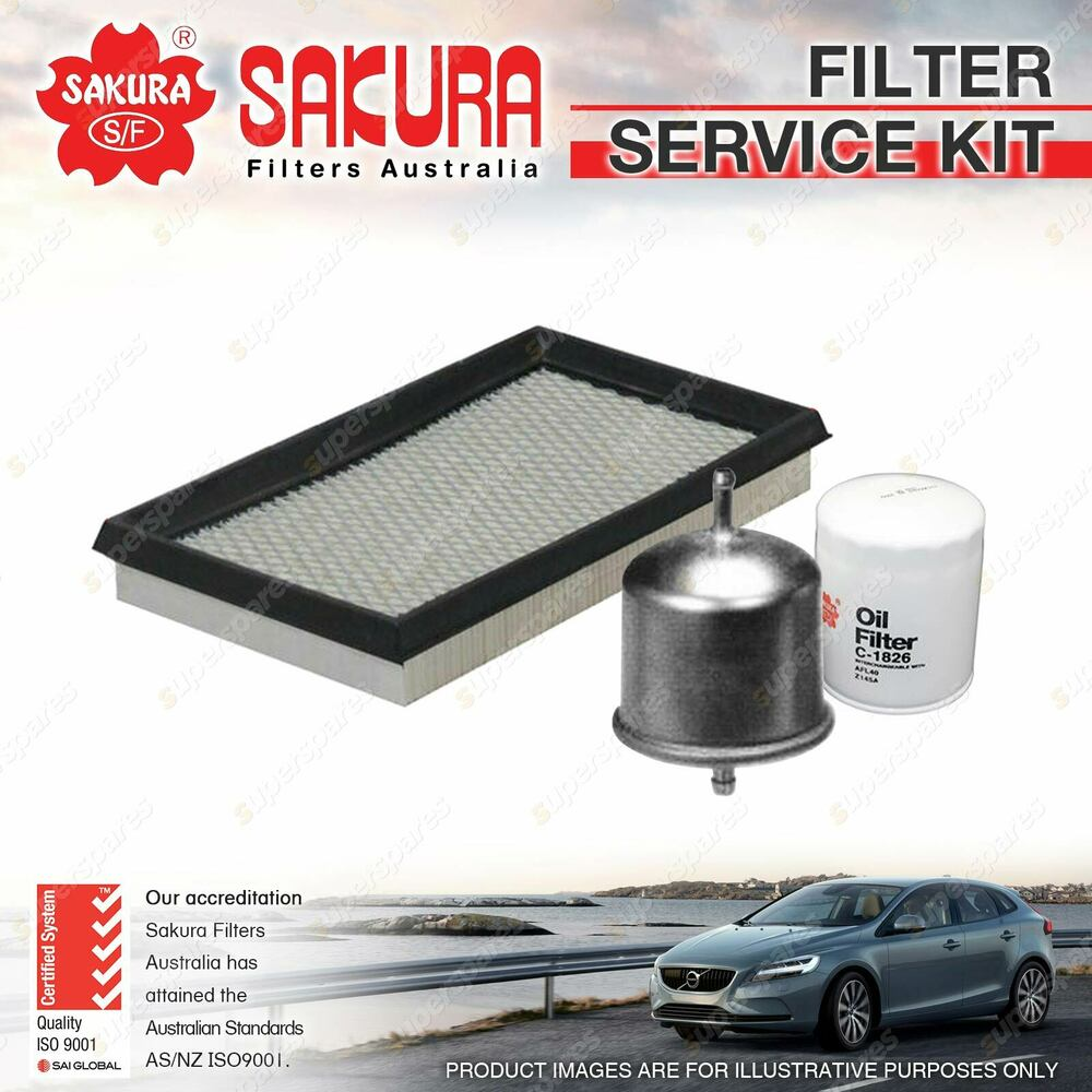 hight resolution of details about sakura oil air fuel filter service kit for nissan 300zx turbo z31 1984 1989