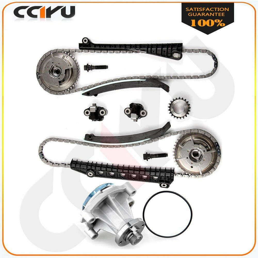 medium resolution of details about timing chain kit cam phaser fits 05 08 lincoln navigator 5 4l 3 valve water pump