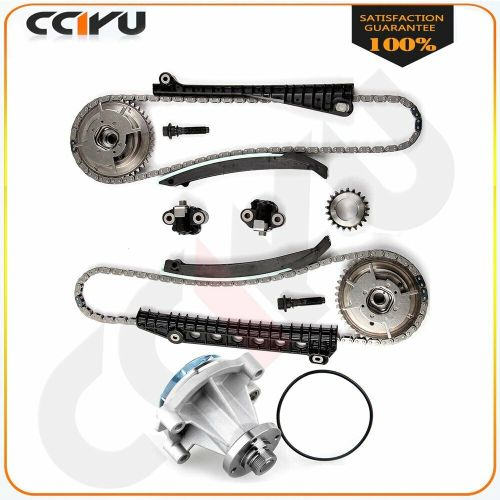 small resolution of details about timing chain kit cam phaser fits 05 08 lincoln navigator 5 4l 3 valve water pump