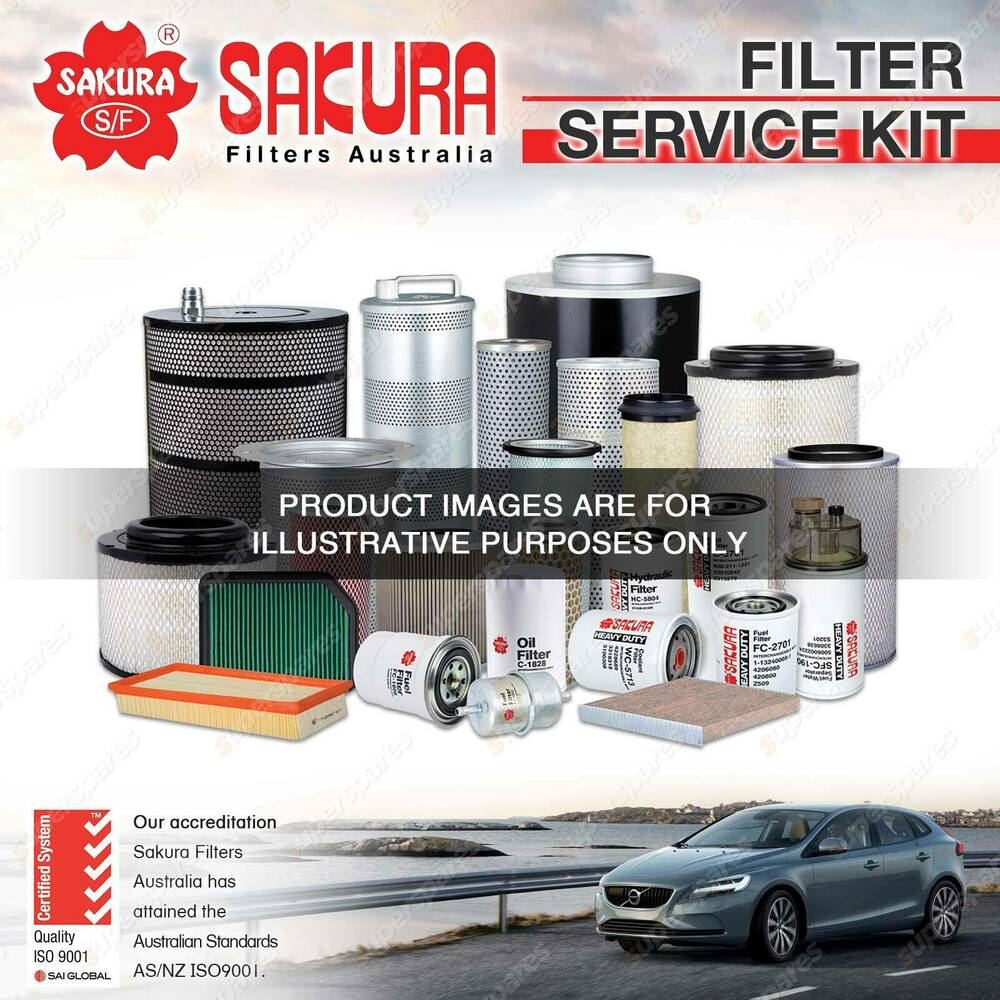 hight resolution of details about sakura oil air fuel filter service kit for volvo c70 s70 v70 2 3 2 4 petrol 5cyl