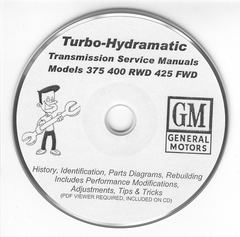medium resolution of details about turbo hydramatic th thm 375 400 425 rebuild manuals