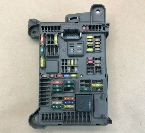 small resolution of details about 2007 2013 bmw x5 e70 rear junction power distribution fuse relay box sam lci