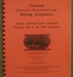 details about farmall 12 volt conversion wiring diagrams schematics a b h m super h super m [ 787 x 1000 Pixel ]