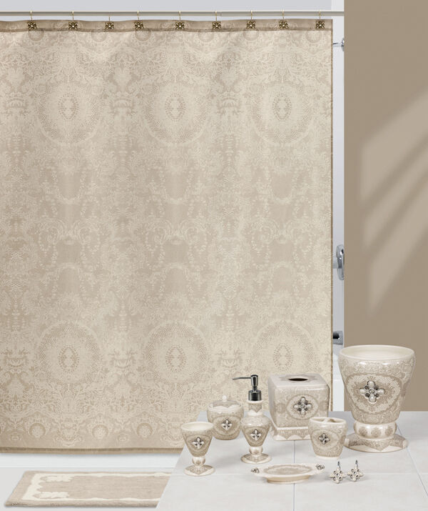 Jewels  Lace French Chantilly Bath Accessories Bathroom