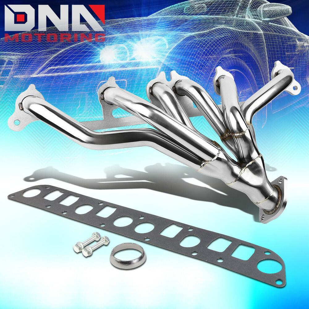 hight resolution of  stainless steel header for 91 99 jeep wrangler cherokee 4 0 l6