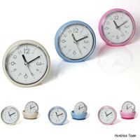 Bathroom Mirror Suction Clock Shower Room Clock Waterproof ...