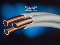 8MM COPPER PVC COATED TUBE/PIPE SOLD PER METRE SUITABLE ...