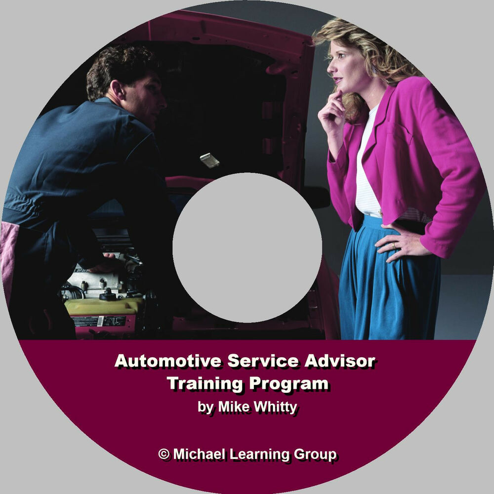 Automotive Service Manager Training Auto Salestraining Auto Service Advisor Training Program Ebook On Cd Ebay