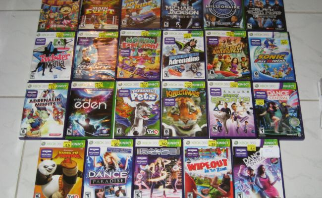 Xbox 360 Kinnect Games You Pick 1 From List Ebay