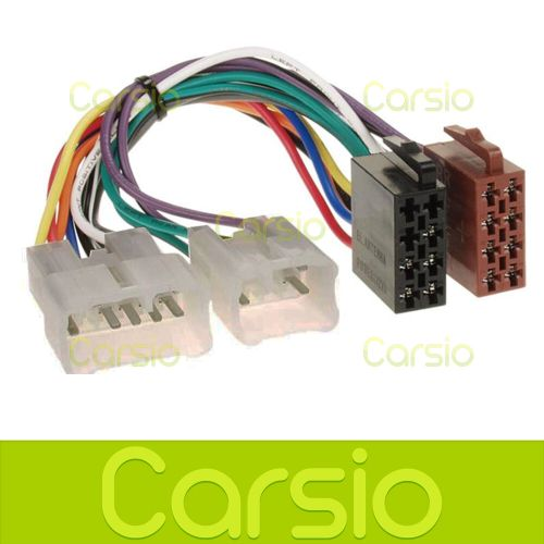 small resolution of details about toyota celica corolla iso wiring harness connector stereo radio adaptor pc2 17 4