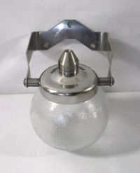 Vintage 1950s Bathroom wall mounted Chrome & Glass ball ...