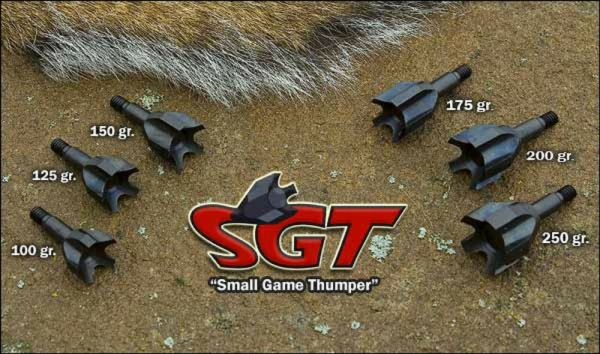 VPA Small Game Thumper SGT Points 3 pack - Various Weights ...