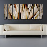 Modern Contemporary Abstract Metal Wall Art Sculpture ...