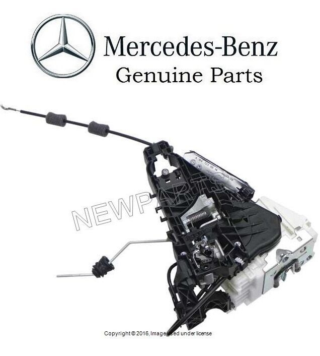 Mercedes W164 Front Passenger Right Door Lock Mechanism